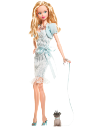 Miss Aquamarine Barbie Doll Pink Label 2007 by Bill Greening.png