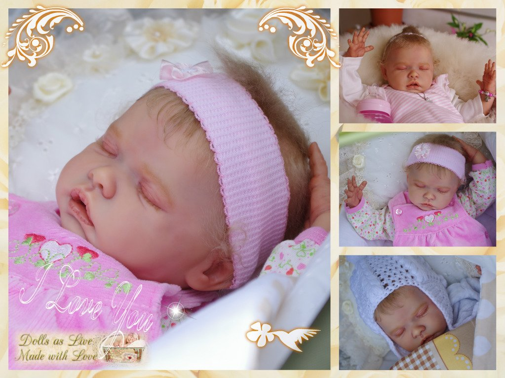 ROUSIE: Tate - Andrea Arcello - Dolls as Live - Made with Love - Reborn dolls