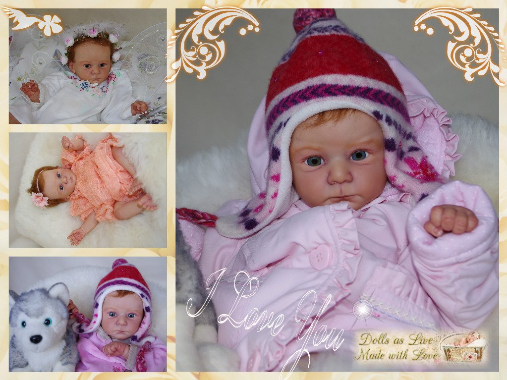 GRETA: Mathis - Gudrun Legler - Dolls as Live - Made with Love - Reborn dolls